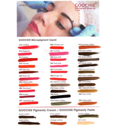 GOOCHIE Pigmenty Paste