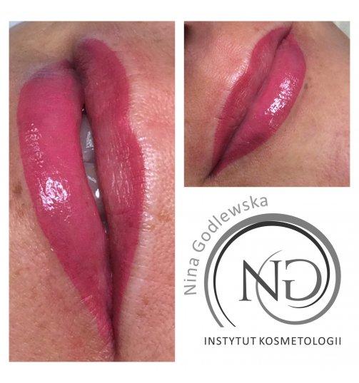 Pigmentacja ust dokształt