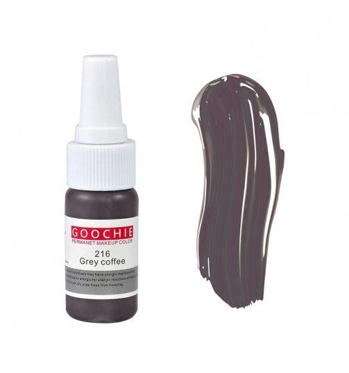 Grey Coffee 216 Goochie Micropigment Liquid