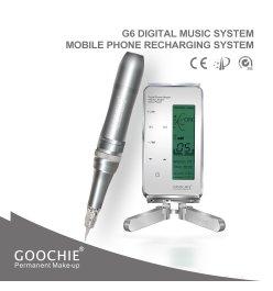 Goochie PMU G6 - Nowoczesne urządzenie do makijażu permanentnego