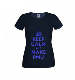 Koszulka Damska - Keep Calm and Make PMU